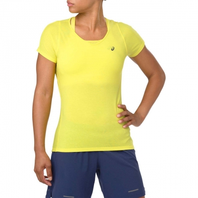ASICS V-NECK SS Top